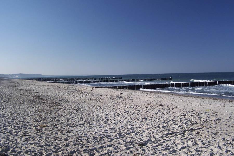Ferienwohnung mit Ostseeblick an der Ostsee in Strandnähe